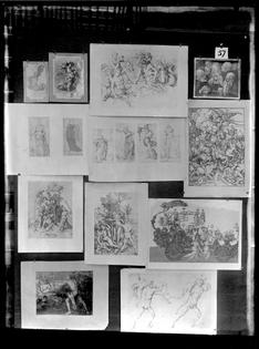 Aby Warburg, Mnemosyne Atlas, Screen 57, October 1929. © The Warburg Institute.