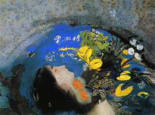 Odilon Redon, Ophelia, 1903