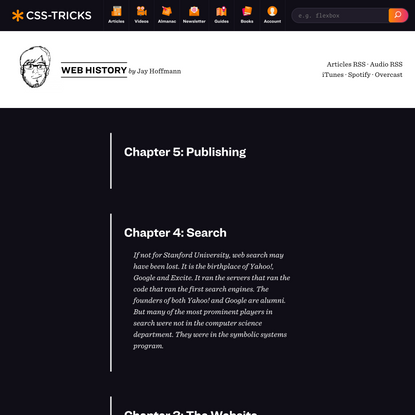 History Archives | CSS-Tricks