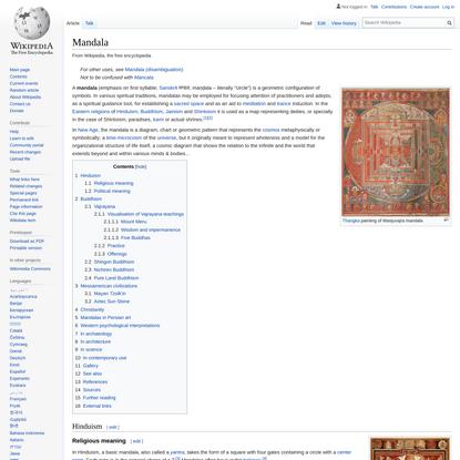 Mandala - Wikipedia