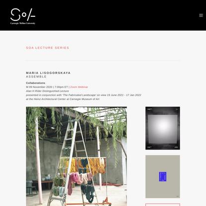 Fall 2020 | Maria Lisogorskaya — CMU School of Architecture