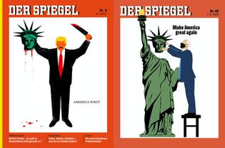 Edel Rodriguez, Der Spiegel (2017 and 2020)