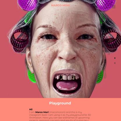 3D Artist   Marco Mori