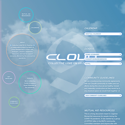 CLOUD9: Collective love on your desktop