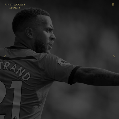 Landing Page – First Access Sports