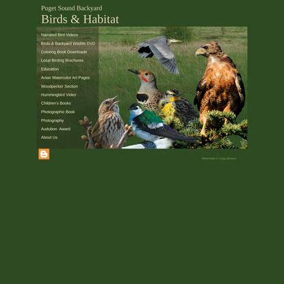 Puget Sound Birds & Habitat