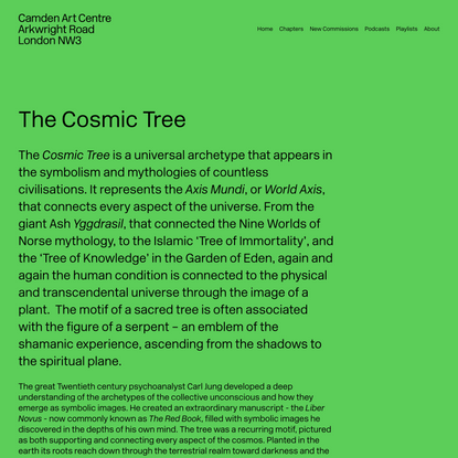 The Cosmic Tree — The Botanical Mind