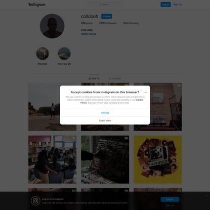 COLLINS (@colloboh) • Instagram photos and videos