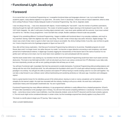 getify/Functional-Light-JS
