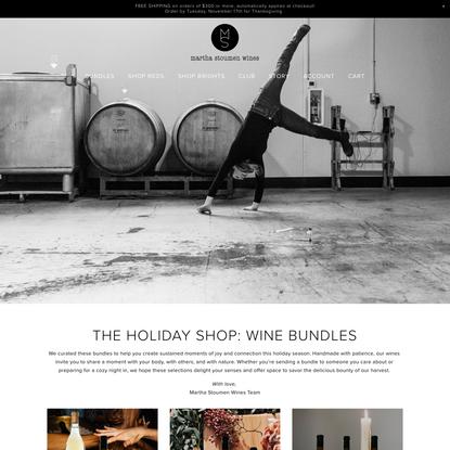 Shop Natural Wine   Martha Stoumen Wines