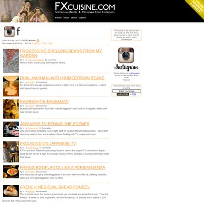 FXcuisine.com