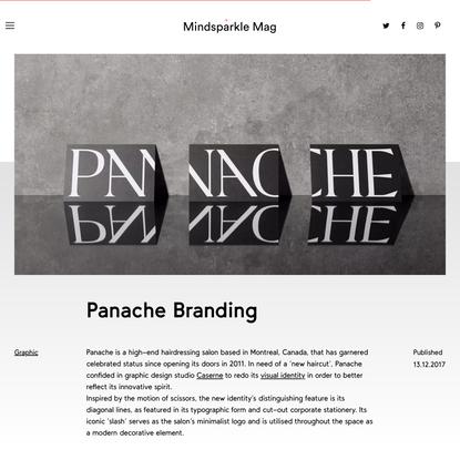 Panache Branding - Mindsparkle Mag
