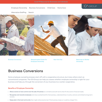 Business Conversions - ICA Group