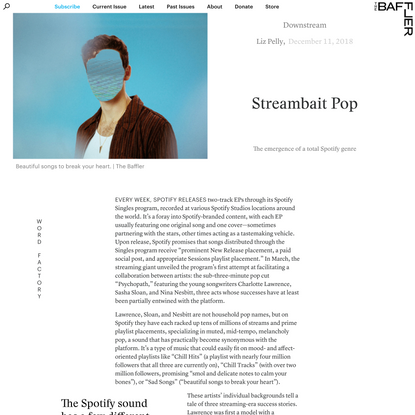 Streambait Pop | Liz Pelly