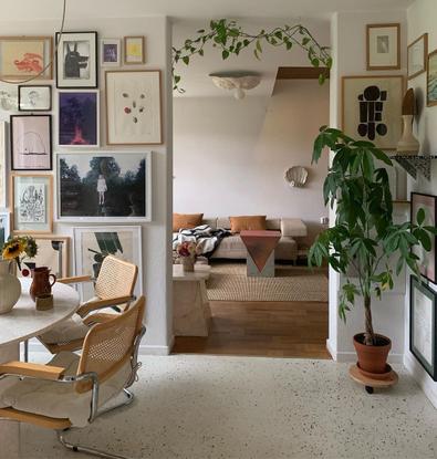 "Katarina Matsson on Instagram: ""Gloomy home office ☕️"""