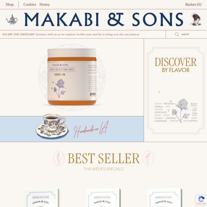 Makabi & Sons | Shortbread Cookies & Infused Honey