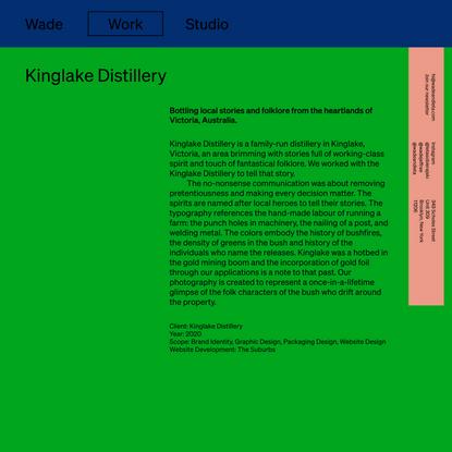 Kinglake Distillery | Wade and Leta