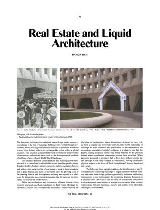 """Real Estate and Liquid Architecture,"" 2010"