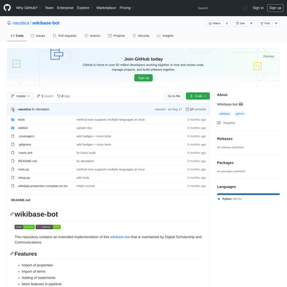 naustica/wikibase-bot