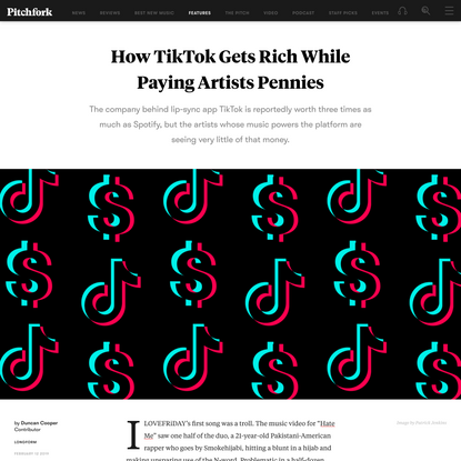 How TikTok Gets Rich While Paying Artists Pennies