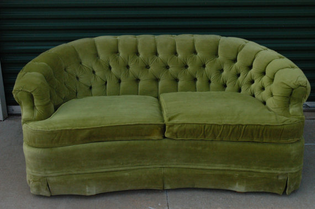 green couch