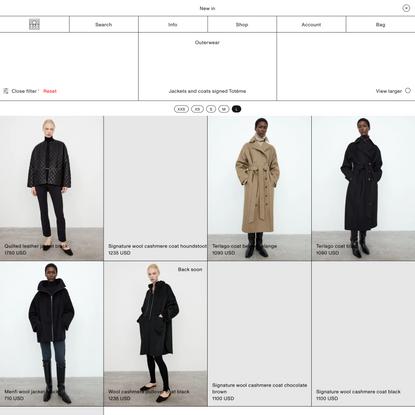 Women's Jackets & Coats – Totême