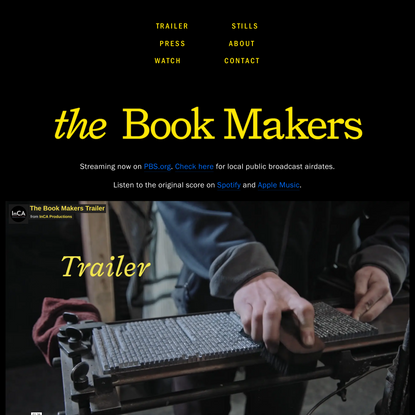 The Book Makers