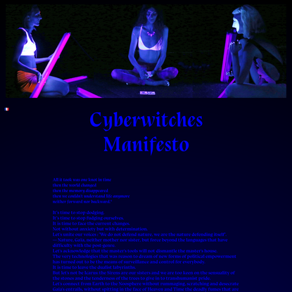 Lucile Haute - Cyberwitches