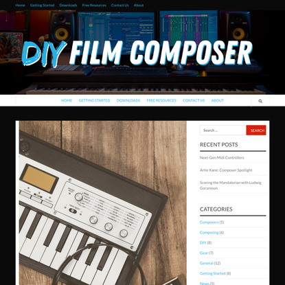 Best Small Midi Controller for Film Composers | DIY Film Composer