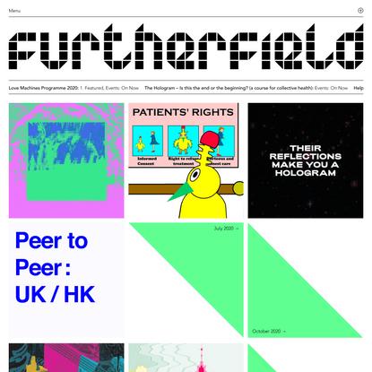 Homepage - Furtherfield