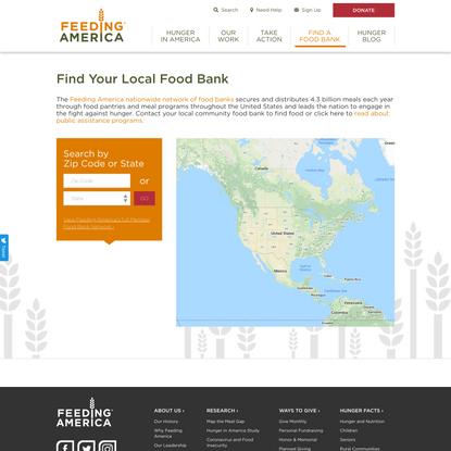 Find Your Local Food Bank | Feeding America