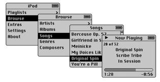 Original iPod UI