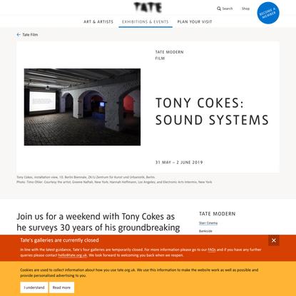 Tony Cokes: Sound Systems – Film at Tate Modern | Tate