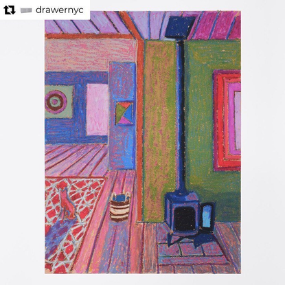 """JJ Manford on Instagram: """"I recently made 3 works on paper, available through Drawer NYC, based mostly on my environment in ..."""
