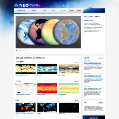 NASA Earth Observations (NEO)