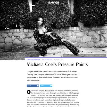 Michaela Coel's Pressure Points