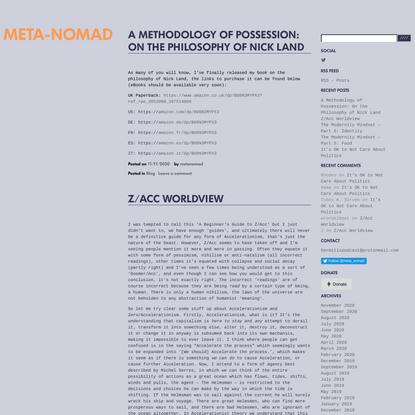 Meta-Nomad