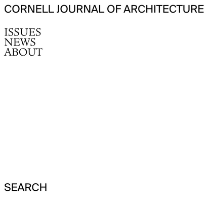 Cornell Journal of Architecture
