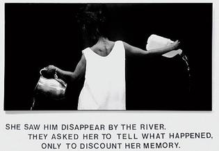 Lorna Simpson, Waterbearer, 1986