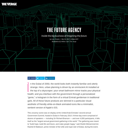 The Future Agency: Inside the big business of imagining the future
