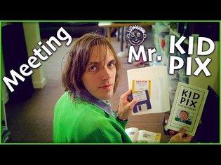 Meeting Mr. Kid Pix