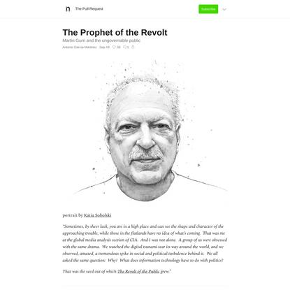 The Prophet of the Revolt