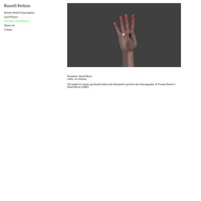 Prosthetic Hand Movie
