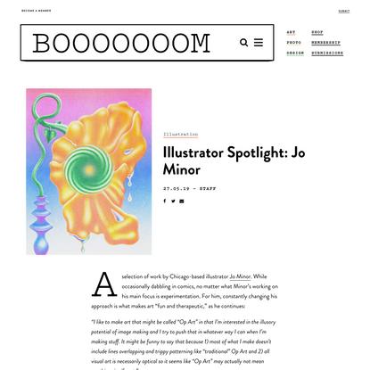 Illustrator Spotlight: Jo Minor