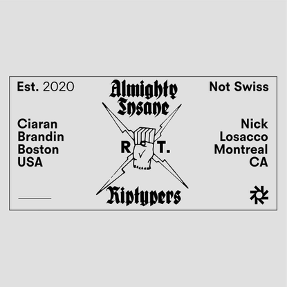 """Riptype on Instagram: """"Been thinking a lot lately about old gangster business cards... and how much Klostro and Generator co..."""