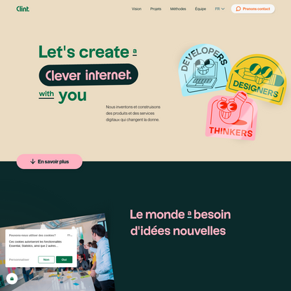 Clint Agency - Product & Service Design