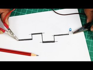 Homemade Pencil Circuit with Paper