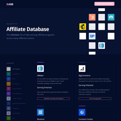 The Affiliate Database