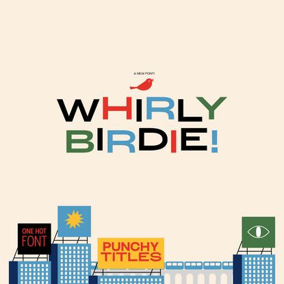 Whirly Birdie Variable Font