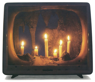 Candle TV by Nam June Paik